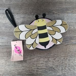 Betsey Johnson Bee Wristlet